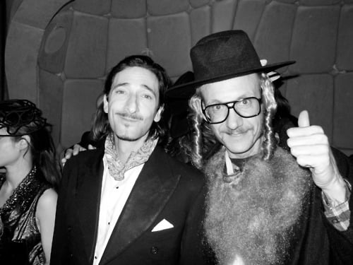 Adrien Brody and Terry Richardson