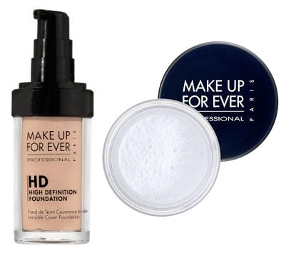 Monday Giveaway! Make Up Forever HD Invisible Cover Foundation and HD Microfinish Powder