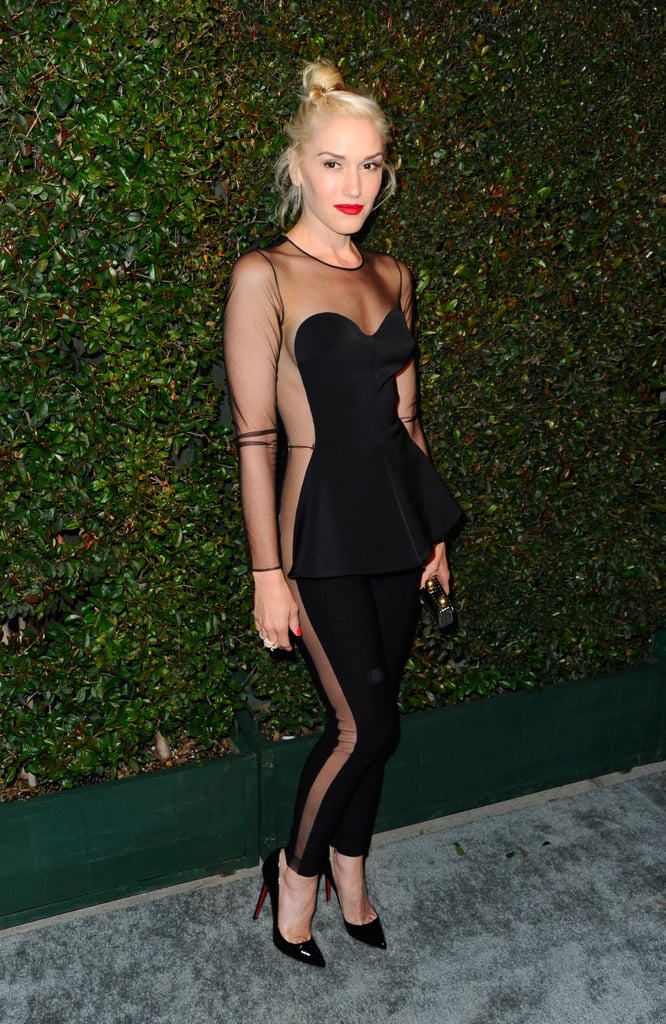 This is the photo that proved Gwen Stefani simply doesn't age. She wore this Stella McCartney number to a star-studded premiere of Stella's dad Paul's latest music video. I don't remember what Kristen Stewart, Gwyneth Paltrow, or Miranda Kerr wore to the party, since Gwen effectively stole the show.  — Allie Merriam, editor