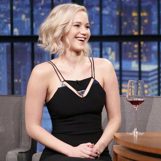 Jennifer Lawrence Talks Chris Pratt Sex Scene on Seth Meyers