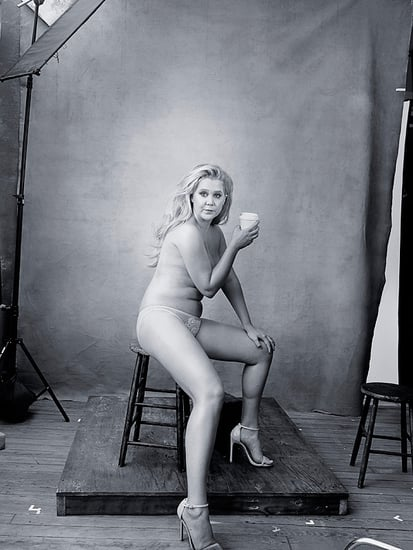 Amy Schumer Bares Almost All as She Becomes Pirelli Model
