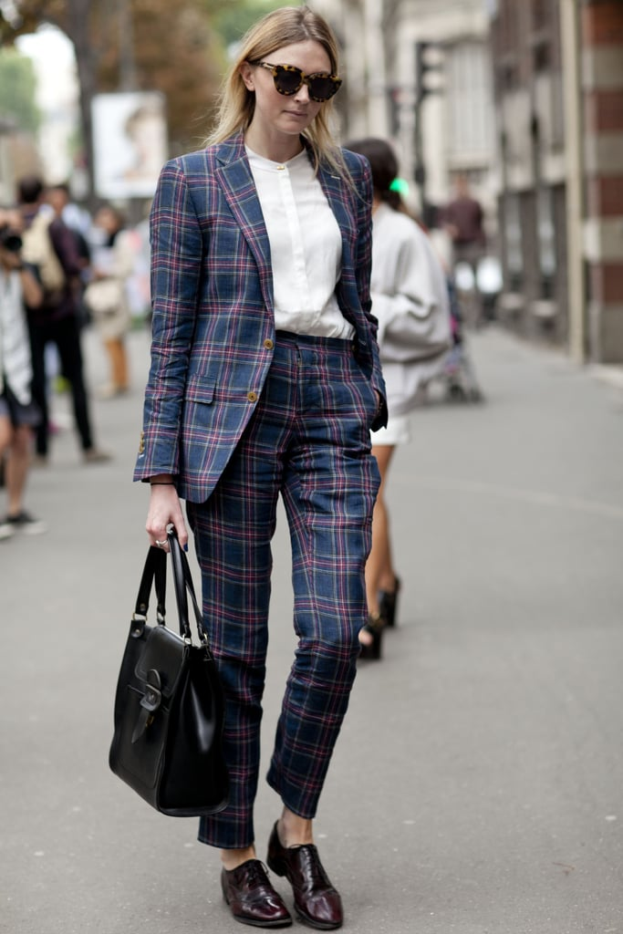 Go for a suit with more personality.