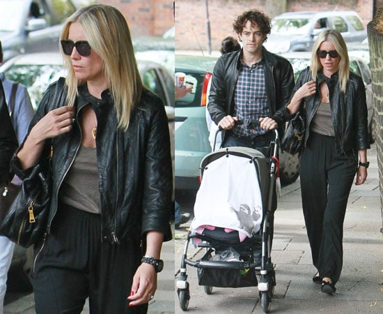 Pictures of Denise Van Outen and Lee Mead With Baby Betsy Before Legally Blonde the Musical and Peru Inca Trail Trek