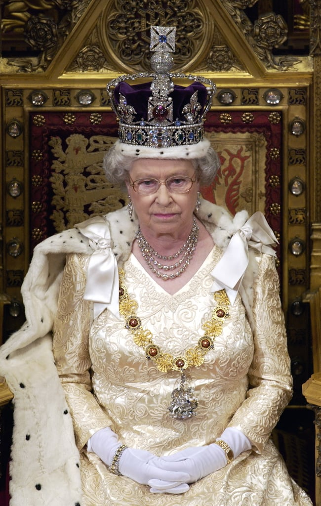 Queen Elizabeth Ii Regalia Facts Popsugar Celebrity