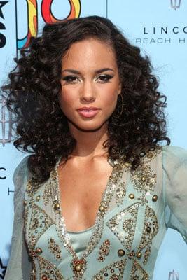 Alicia Keys's Lipstick at the 2009 BET Awards