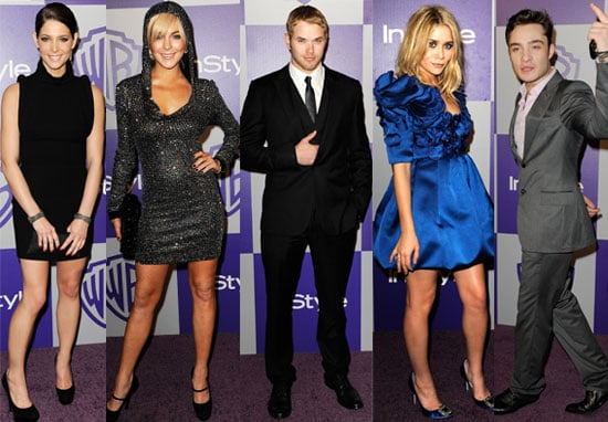 Photos of all the Celebs at the Afterparties at the Golden Globes 2010