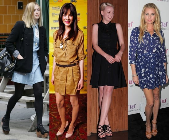 Celebrities Wearing Shirtdresses and Shirtdress Shopping