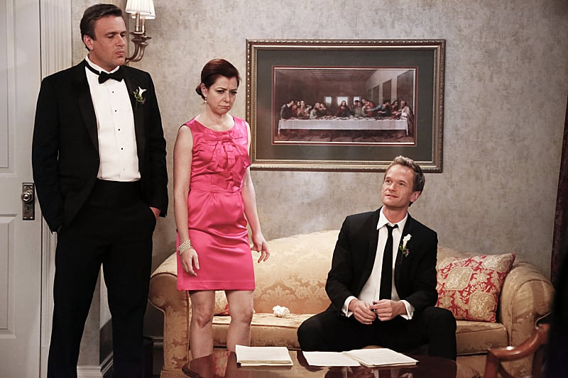 Marshall and Lily have to rethink their vows in the face of Barney's criticism.