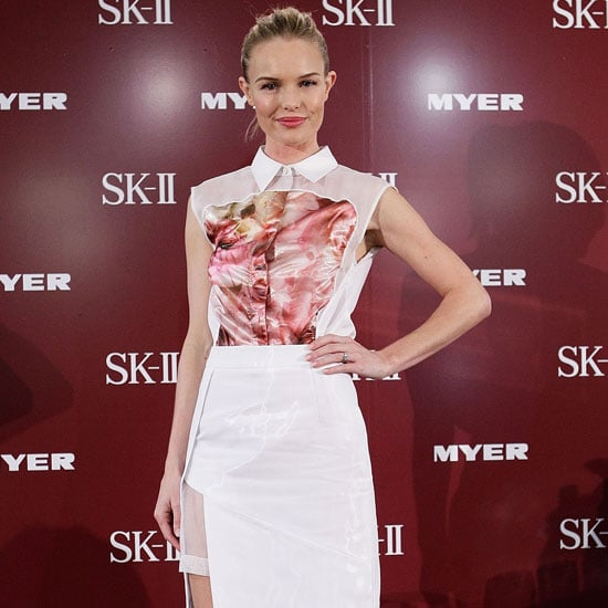 Kate Bosworth Wearing Floral Blouse