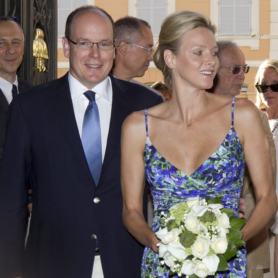 Prince Albert and Charlene Wittstock Pictures in Monaco
