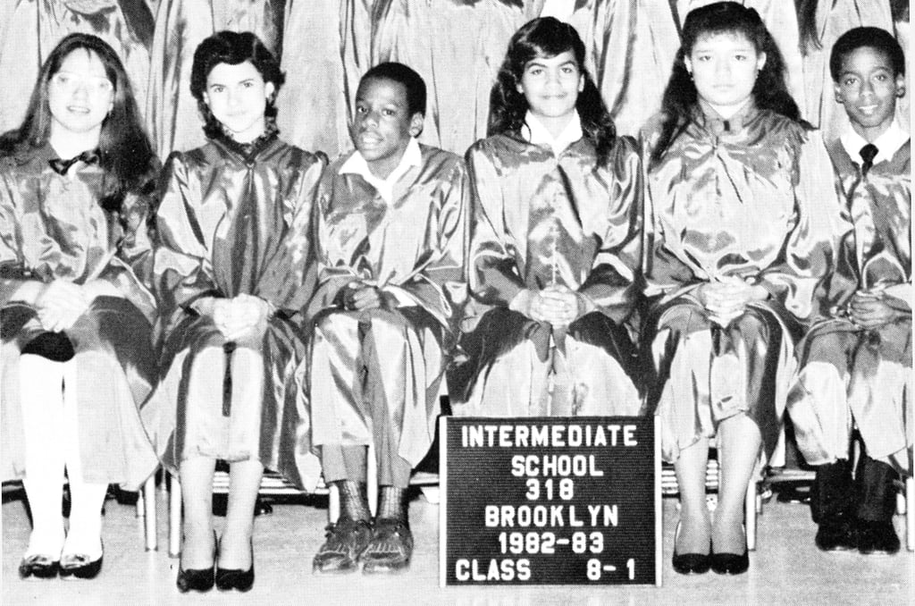 Jay-Z posed for his class photo.