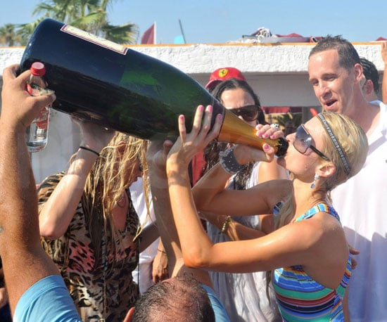 Slide Picture of Paris Hilton Partying in St. Tropez 2010-07-22 17:00:00