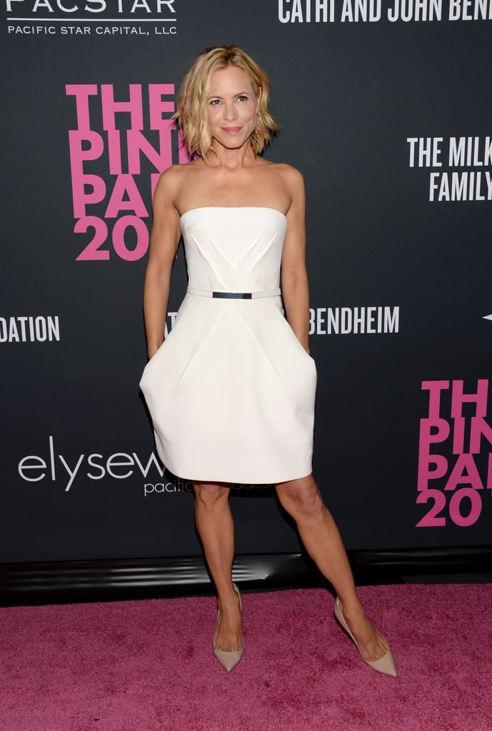 Maria Bello attended The Pink Party.