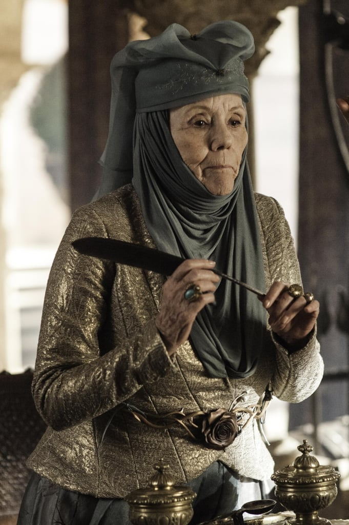 Diana Rigg joins the cast  as Olenna Redwyne.