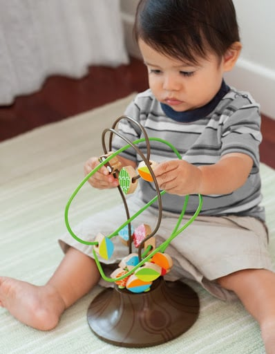 For Infants: Skip Hop Treetop Friends Busy Bead Tree