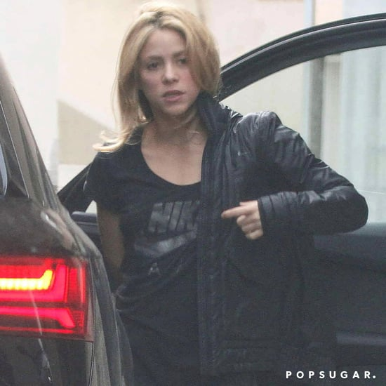 Shakira With Short Hair Winter 2016
