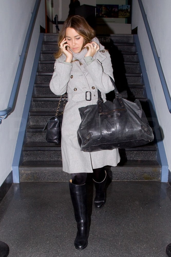 Lauren Conrad Jets Home to LA to Keep Taking Care of Business