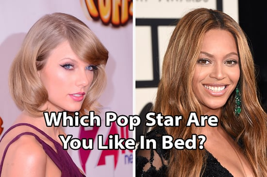 Which Pop Star Are You In The Streets…And In The Sheets?