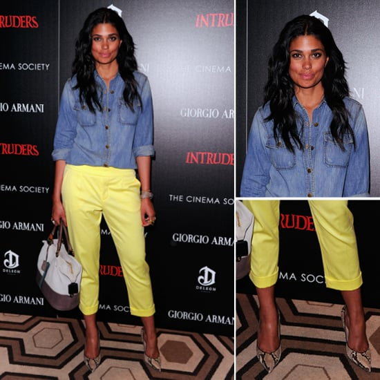 Rachel Roy Yellow Pants
