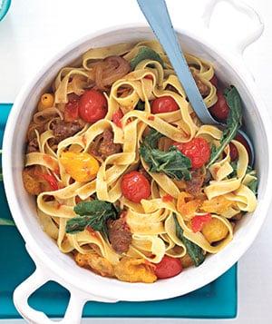 Fast & Easy Recipe For Italian Sausage & Tomato Pasta