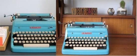 Three Potato Four Vintage Typewriter