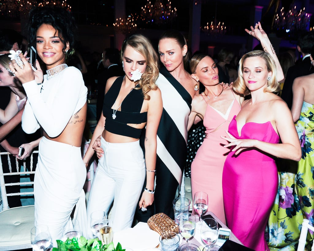 Stella McCartney and her girls kept the party going.