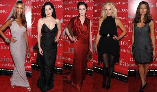 Best Dressed at 2009 Fashion Group International's 26th Annual Night of Stars