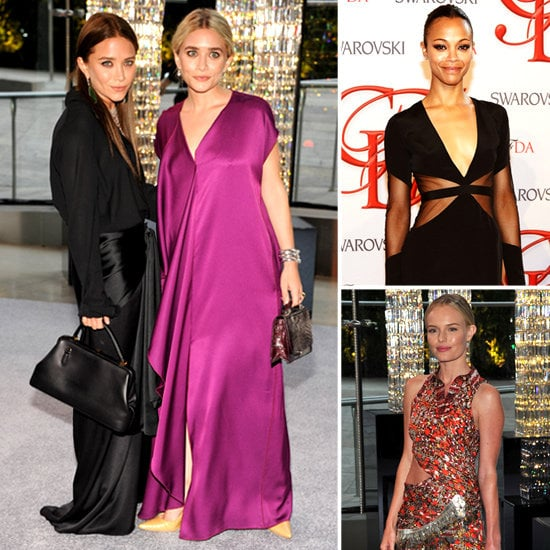 See every stylish look from the 2012 CFDA Awards.