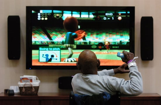 Senior Takes Part in Wiihabilitation