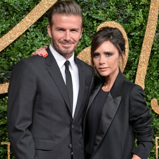 David and Victoria Beckham Dancing at Eva Longoria's Wedding