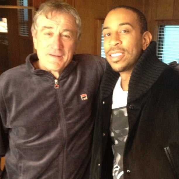 "Ludacris shared this photo of himself with ""the legend"" Robert DeNiro. Source: Instagram user itsludacris"