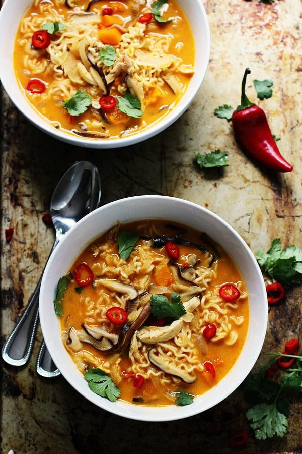 spicy ramen vegetarian recipe Than Recipes Ramen Pumpkin More Spicy With   Made Butternut Squash 50