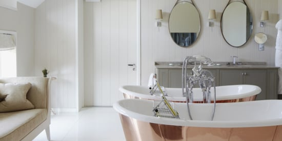 An Amazing Bathroom Makeover That Only Cost $400