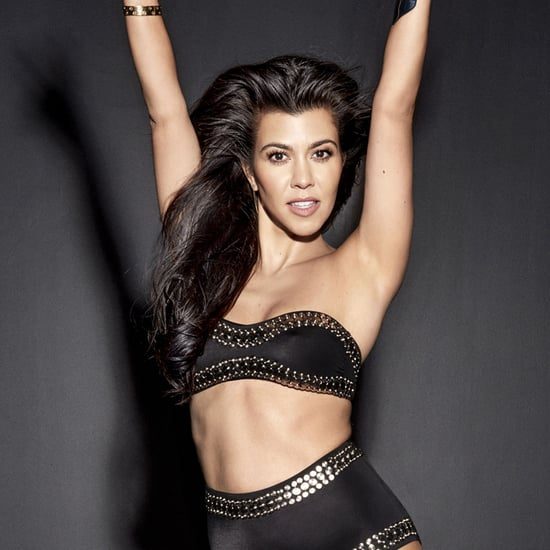 Kourtney Kardashian on Cosmopolitan Cover October 2016