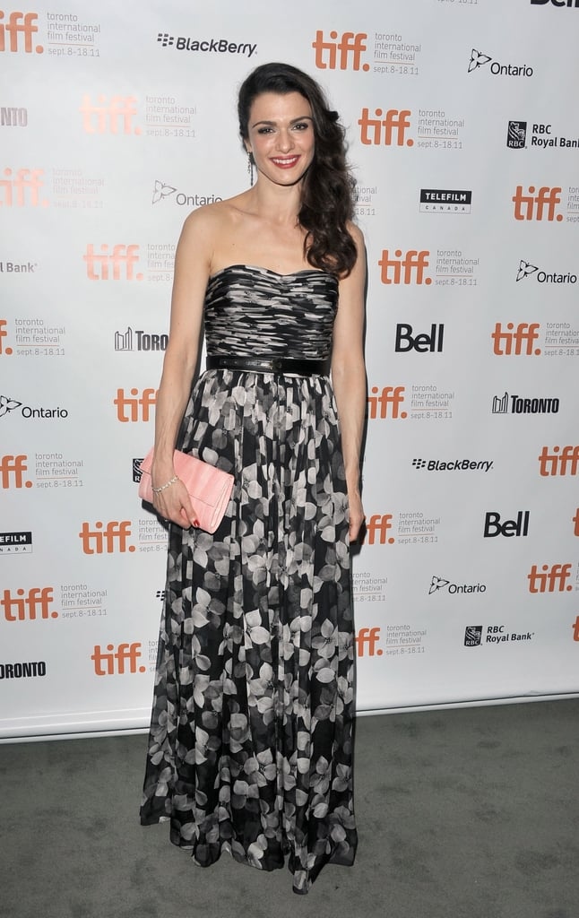 Rachel Weisz made a gorgeous entrance on the red carpet in a floral Jason Wu gown at the premiere of The Deep Blue Sea.