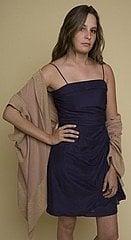 Whitley Kros - Queen Dress in Navy