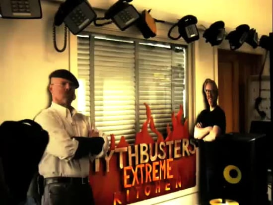 GeekSugar Goes to MythBusters