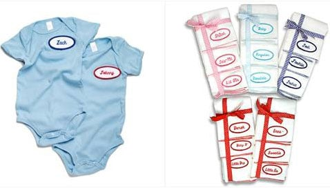 Personalized Onesies and Burpers