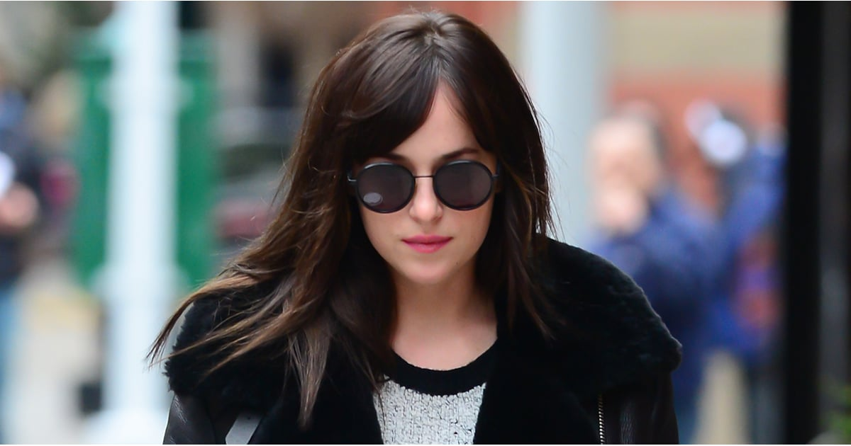 Dakota Johnson Running Errands in NYC | POPSUGAR Celebrity
