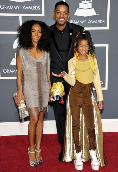Will,Jada and Willow Smith(2011 Grammy)