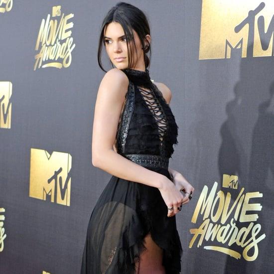 Kendall Jenner's Dress at MTV Movie Awards 2016