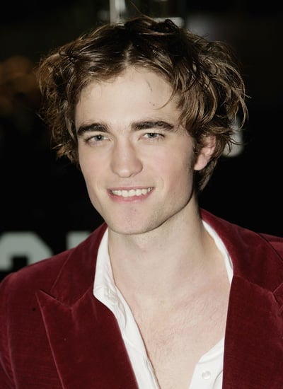 Robert Pattinson in November 2005: Premiere of Harry Potter and the Goblet of Fire in London