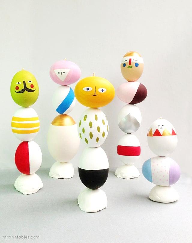 Easter Egg Scuptures