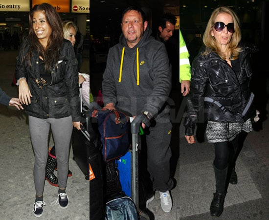 Pictures of I'm A Celebrity 2010 Contestants Returning Home Including Stacey Solomon, Shaun Ryder, Gillian McKeith
