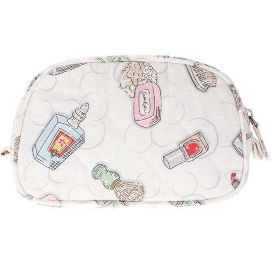 Cath Kidston Quilted Cotton Small Make Up Bag, approx $17