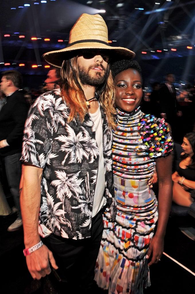 Jared Leto posed with Lupita Nyong'o.
