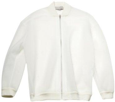 Stella McCartney Paper Airtex bomber jacket