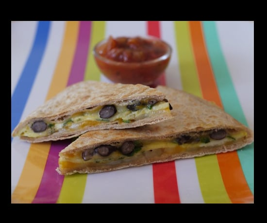 Mexican Egg and Cheese Quesadilla