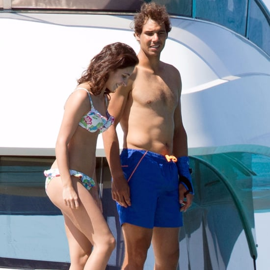 Rafael Nadal and His Girlfriend in Ibiza, Spain, June 2016