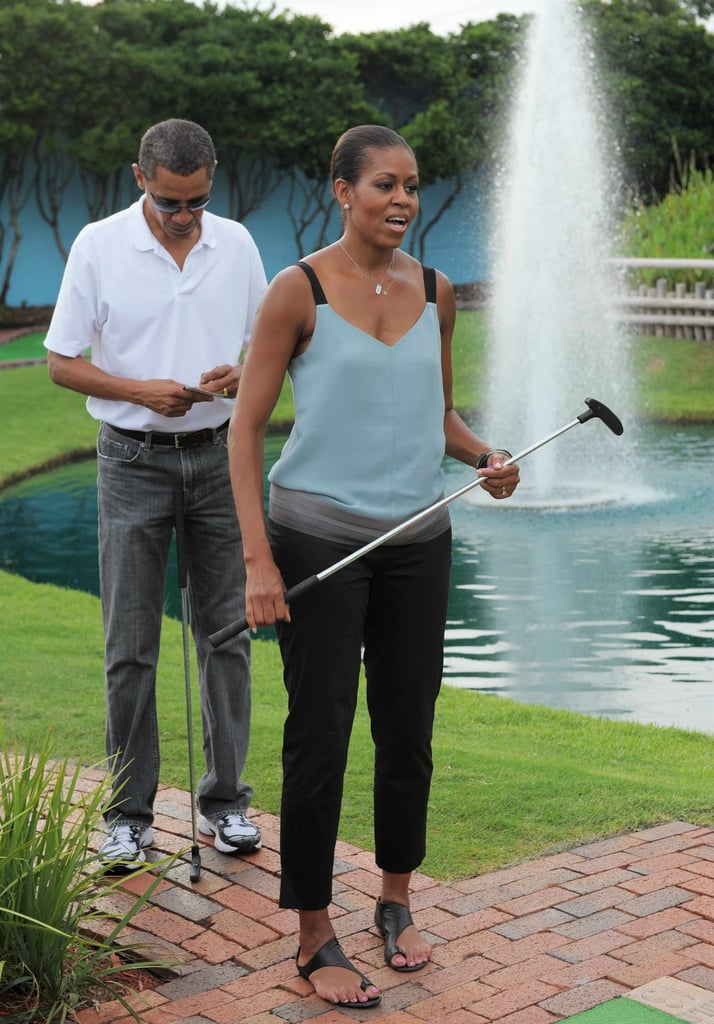 When She Was Ready For Mini Golf in This Easy, Breezy Combo